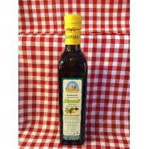 Condimento aromatizzato con limoni in bottiglia di vetro da 0,5 L.