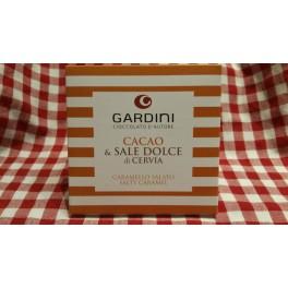 Tavoletta di Cioccolata al Caramello Salato 50 g.