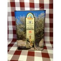 """Olio extra vergine di oliva Colline di Romagna D.O.P."""" 3 L."""