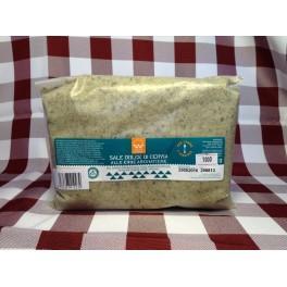Sale alle erbe aromatiche per carne (etichetta verde scuro) 1 kg.