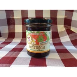 """Confettura """"Le Fragole"""" solo frutta 220 g. BIO"""