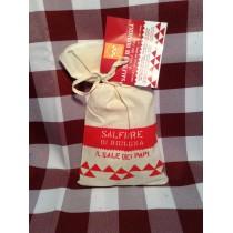 Sale di Cervia in sacchetto di cotone da 300 g.