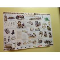 Poster con la storia della piadina